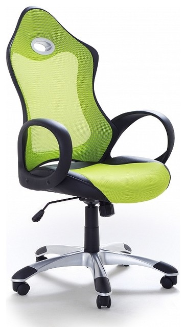 chaise de bureau fauteuil design vert ichair contempor neo sillas de oficina de. Black Bedroom Furniture Sets. Home Design Ideas