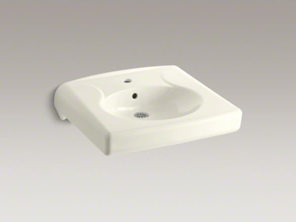 Kohler Brenham Tm Wall Mounted Or Concealed Carrier Arm Mounted Commercial Bath Contemporary