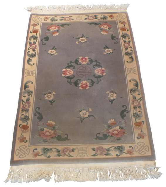 3x5 chinese art deco rug