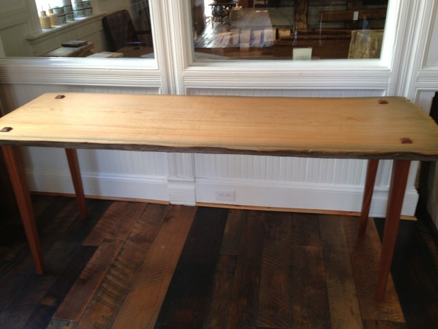 Sinker Cypress Dining Table Traditional Dining Tables Denver By Reclaimed Designworks