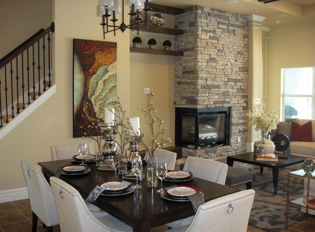 Interior design gallery transitional dining room for Interior designs dining room