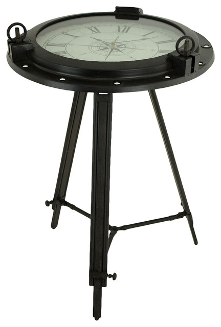 newport clock table eclectic side tables and end