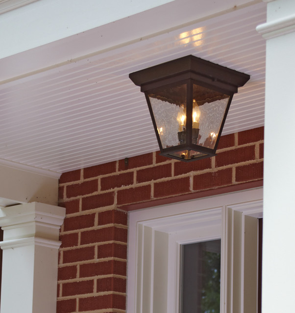 Porch Lighting Traditional Chicago By Brass Light Gallery