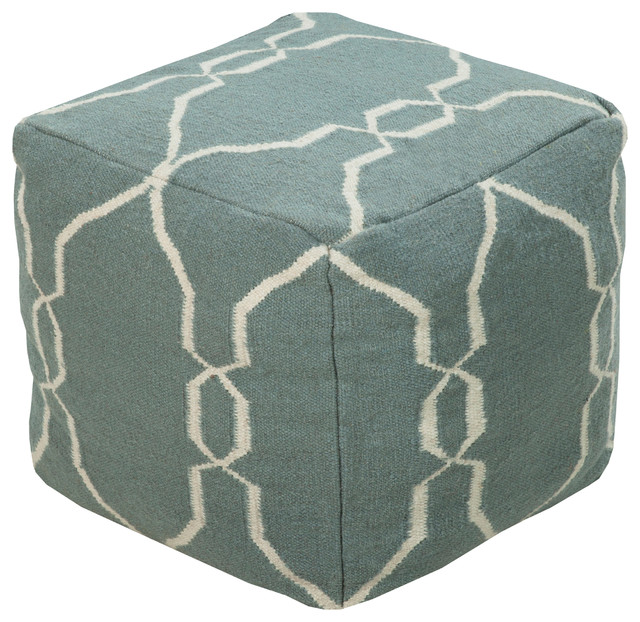 Surya Poufs Cube Pouf - Contemporary - Floor Pillows And Poufs - by Surya