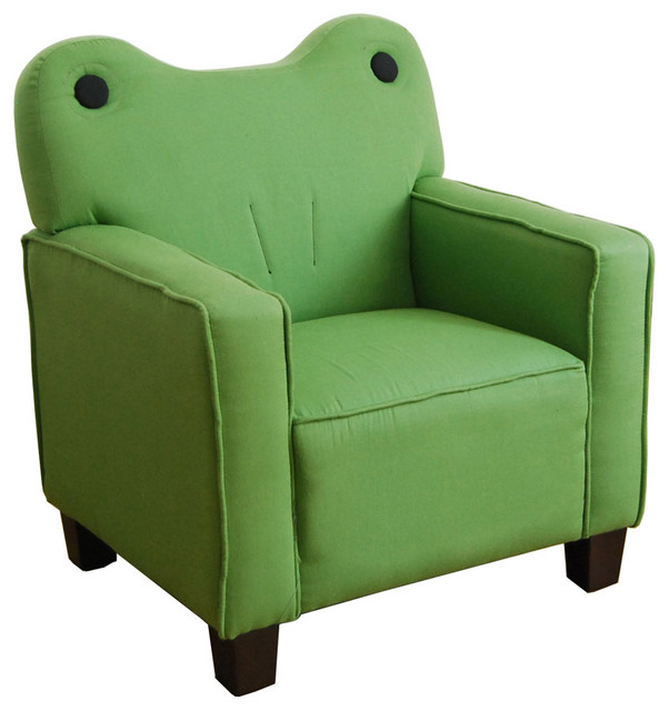 Kermit Green Frog Youth Chair Contemporary Kids Chairs