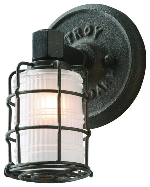 Troy Lighting B3841 Mercantile Wall Sconce - Rustic - Bathroom Vanity Lighting - new york - by ...