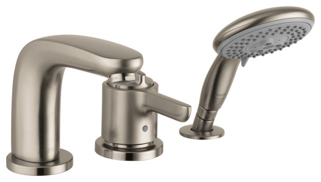 Hansgrohe 4130820 Allegro E 3 Hole Thermostatic Tubfiller