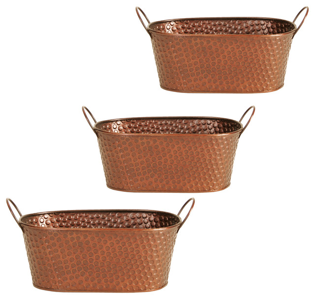 Wald Imports Woodchip Basket Rustic Indoor Pots And Planters By