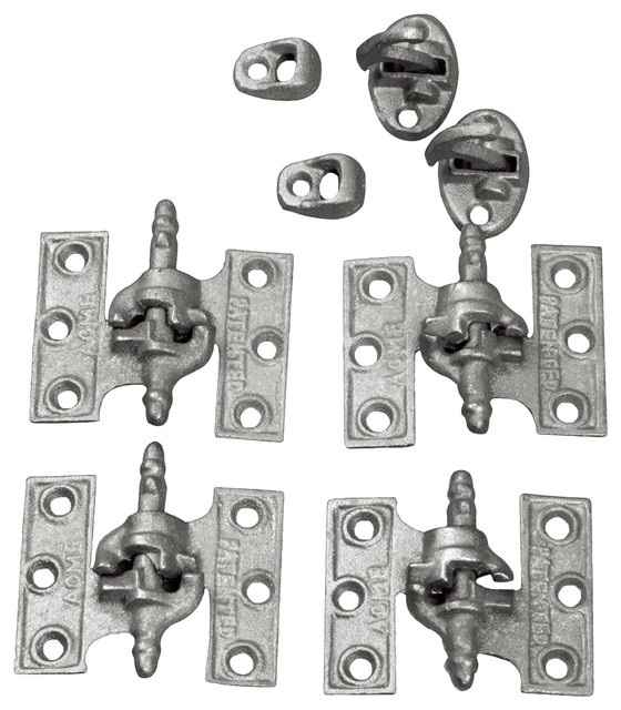 Shutter Hinges Gray Cast Iron Shutter Hinge 2 1/2 x 3 1/8'' Acme ...