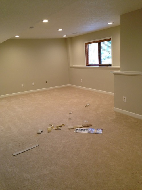 Need paint color to help reduce pink undertone in new carpet Paint colors that go with beige
