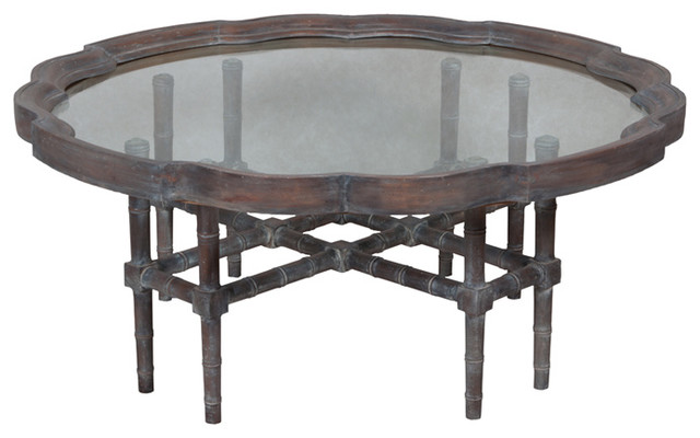 Grey Bedford Cocktail Table 20 8 X48 Tropical Coffee Tables