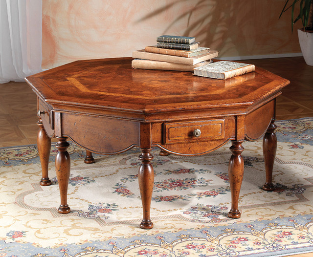 Solid Walnut Rustic Coffee Table Rustic Coffee Tables Other Metro By David Michael Furniture