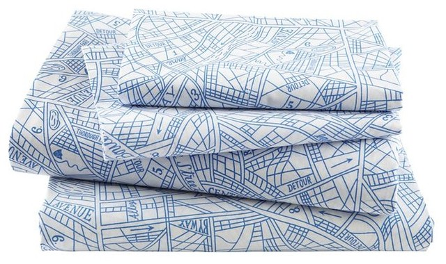 Boys Sheets Transportation Sheet Set In Sheet Sets