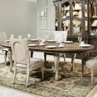 American drew jessica mcclintock boutique oval dining for A b mackie salon