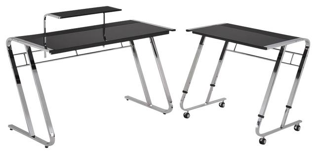 4 7 Ft Width Modern Computer Desk Contemporary Desks