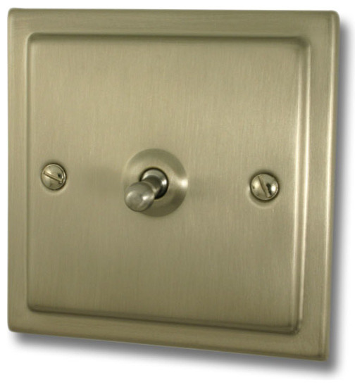 Satin toggle switch - Modern switches and sockets ...