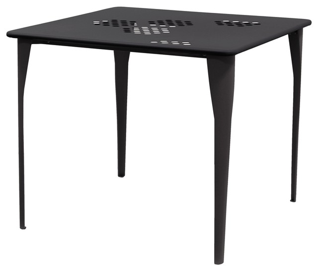 pattern tisch quadratisch moderne table de jardin. Black Bedroom Furniture Sets. Home Design Ideas