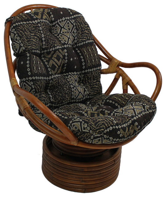 Tapestry Cushion Rocker,Picasso - Rocking Chairs - by International ...