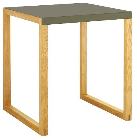 Kilo table de salle manger en m tal et ch ne massif for Salle a manger en chene massif moderne