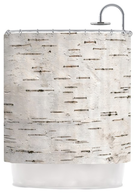 susan sanders painted tree white rustic shower curtain. Black Bedroom Furniture Sets. Home Design Ideas