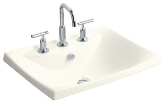 Lav Sink : ... Rimming Lavatory with 8