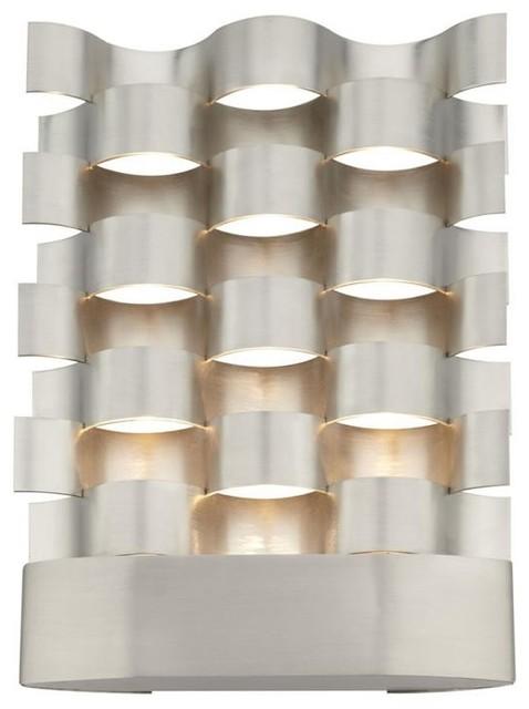 Bauhaus Winkel wave form led wall bracket bauhaus look winkel lbc lighting