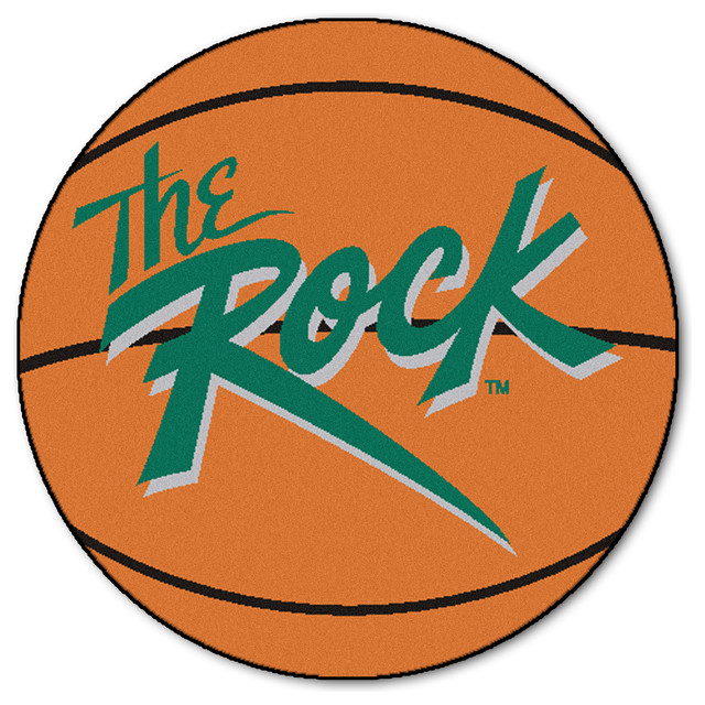 Slippery rock basketball mat 27 quot diameter contemporary