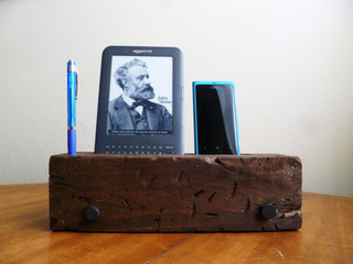 Barn Wood Iphone Dock Charging Station By J Rustic Furniture Rustic Charging Stations By Etsy