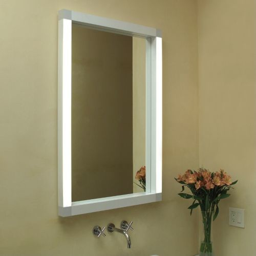 Lighted Mirrors For Bathrooms Modern: Rezek Lighted Mirror By Artemide