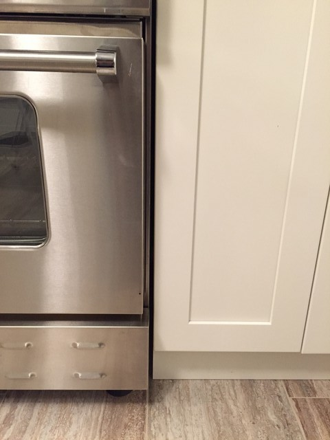 Countertop Oven Heat Shield : The Door Finish Is Supposed To Be Some Fully Catalyzed Conversion ...