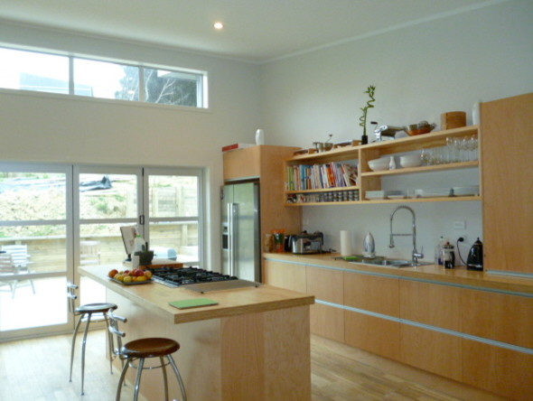 New Build Modern Kitchen Auckland By Scr Auckland Builders Renovation Specialists