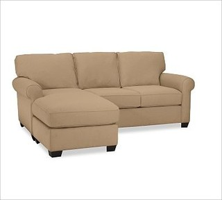 Buchanan Upholstered 2 Piece Sectional With Chaise