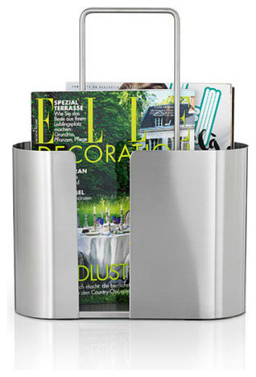 Seamo chic magazine rack modern magazine racks for Magazine racks for home