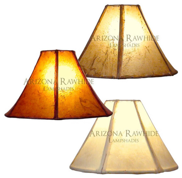 Rawhide Lamp Shade Small Med Table Lamps Size 9 Quot H X 15 Quot W