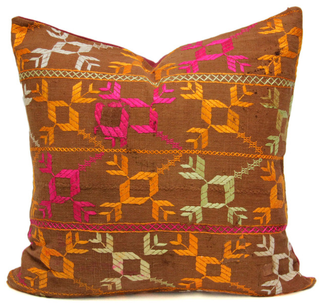 Exclusive Royal Antique Suzani & Bagh Phulkari Pillows - Southwestern - Decorative Pillows - by ...