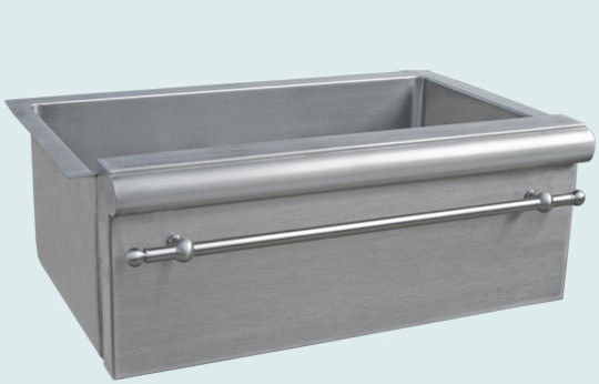 Farmhouse Sink With Divider : Stainless Sink Handcrafted Metal - Farmhouse - Kitchen Sinks ...