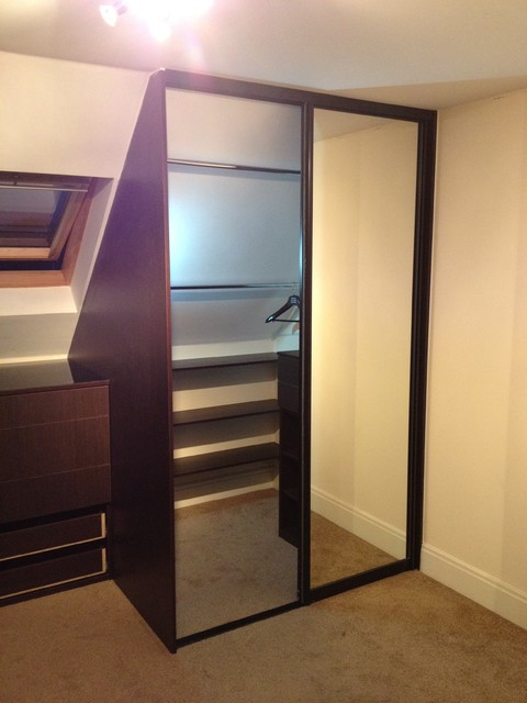 Attic Sliding Door Wardrobes Drawer Chest Made To Measure