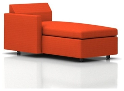 Bevel chaise lounge modern chaise longue for Chaise longue tours