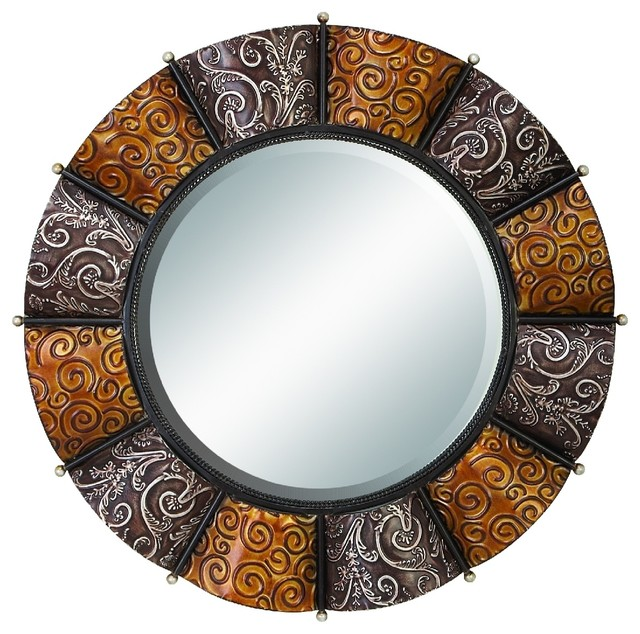 Heavily Discounted Metal Mirror Contemporary Wall Mirrors By