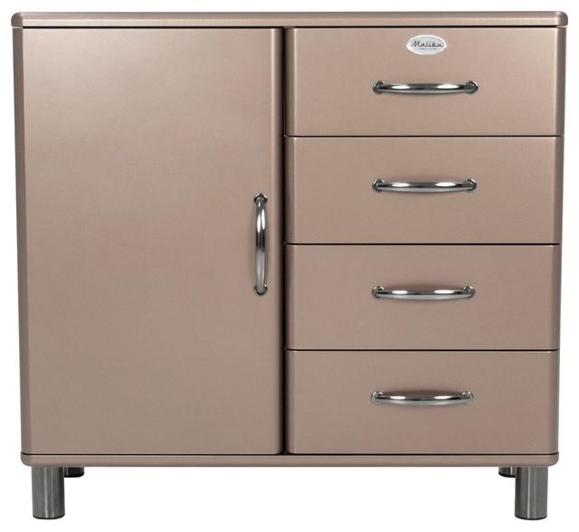 malibu buffet 1 porte 4 tiroirs bronze r tro buffet et bahut par alin a mobilier d co. Black Bedroom Furniture Sets. Home Design Ideas