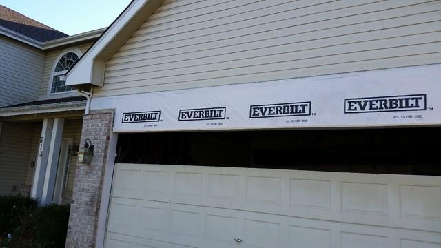 garage door header replacement 2