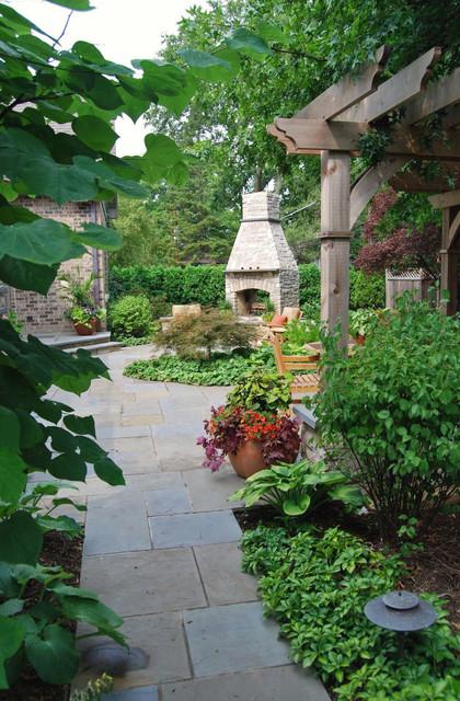 Bluestone Walk Classique Jardin Chicago Par K D