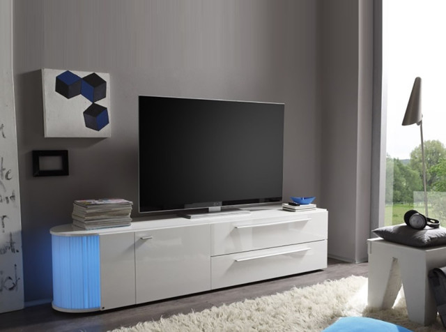 modern tv stand rondo large by lc mobili