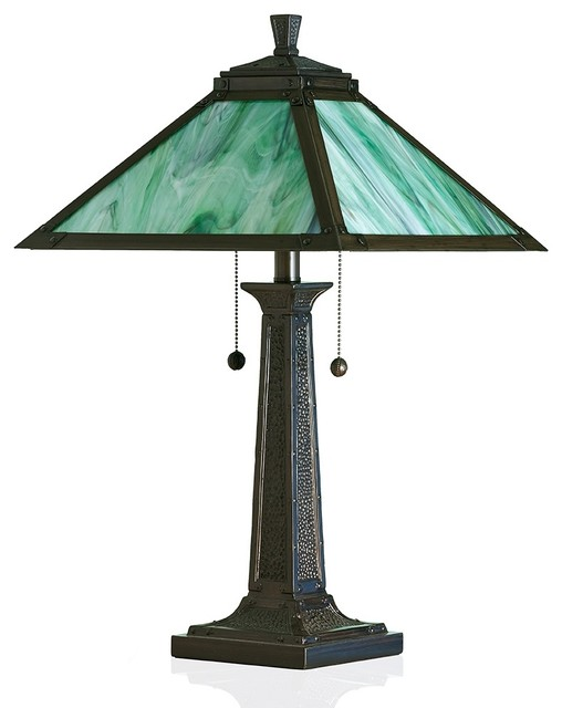 stained glass lamps arts and crafts table lamps. Black Bedroom Furniture Sets. Home Design Ideas