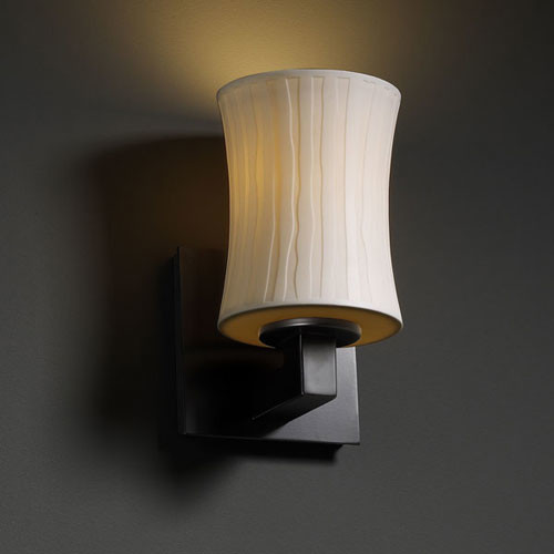 Bathroom Wall Sconces Black : Limoges Modular Matte Black Wall Sconce - Contemporary - Bathroom Vanity Lighting