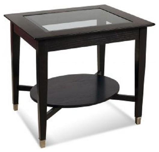 Bassett Mirror Novello Rectangle End Table 8066 200 Traditional Coffee Tables Salt