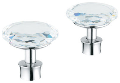 Grohe Kensington Round Handles - Traditional - Bathroom Sink And Faucet Parts - by Buildcom