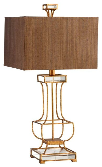 Cyan Design Pinkston Table Lamp Gold Leaf Transitional