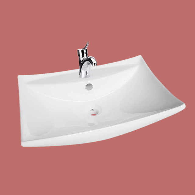 ... Square Wall Mount Sink 23 1/2