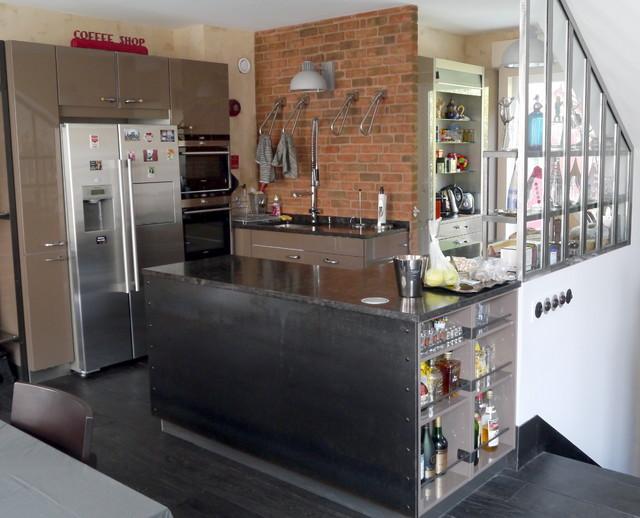 Interior designer new york interior designer nyc - Cuisine loft industriel ...